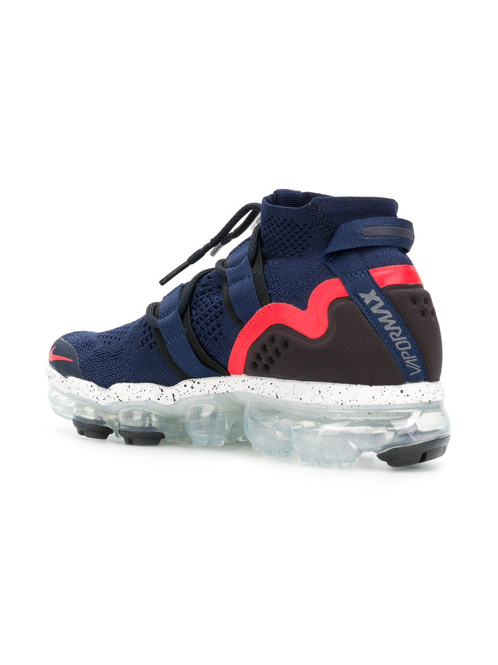 47ab9e8f6a509 Nike Lab Air Vapormax Flyknit Utility Sneakers in Blue for Men - Lyst