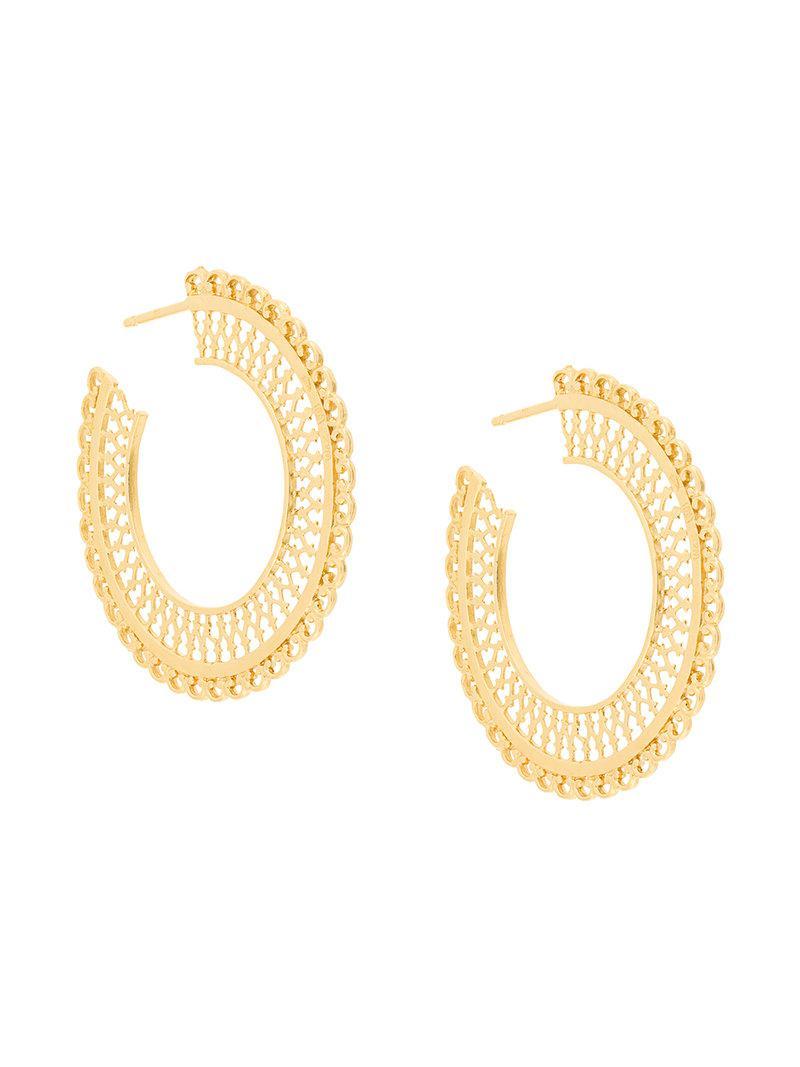 Wouters & Hendrix Filigree earrings - Metallic BfC4XomLJP