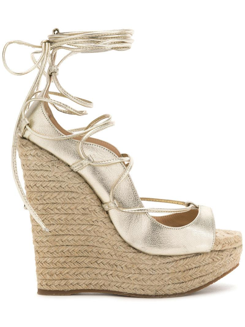 Dsquared² Metallic Platform Sandals cheap reliable buy cheap Inexpensive ZQ2a6y