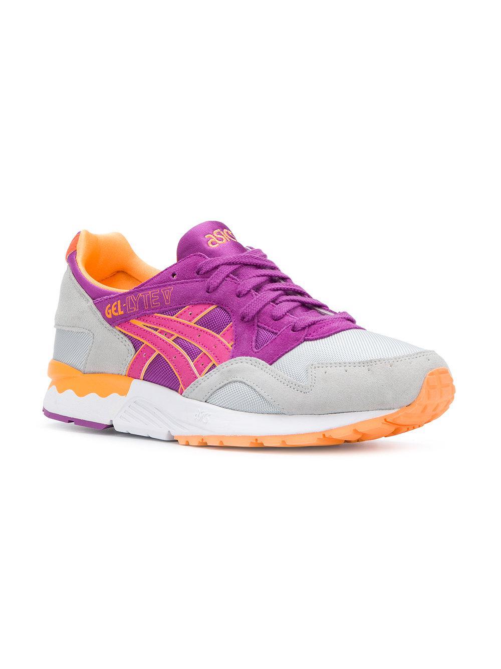 Lyte Lyst Asics V Gel Purple Sneakers In wAUpgq