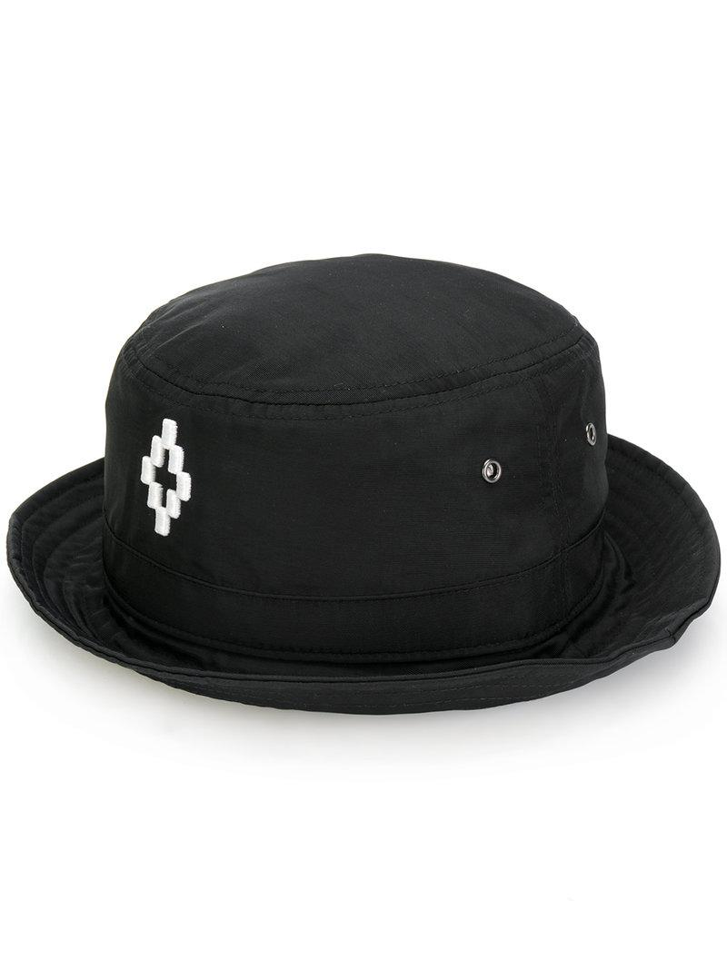 d773b0b90da Lyst - Marcelo Burlon Starter Cruz Bucket Hat in Black for Men