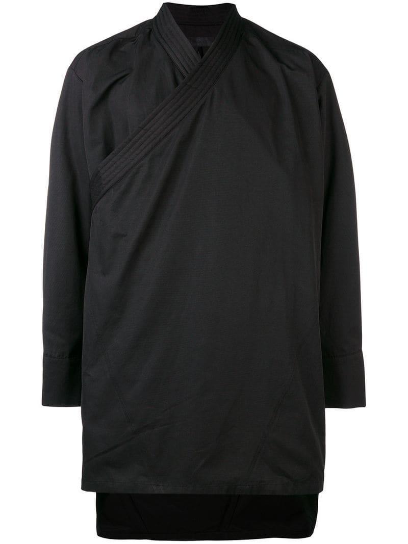 Men's Asymmetric D Zip Diagonal Jacket Black gnak Bw44pq0