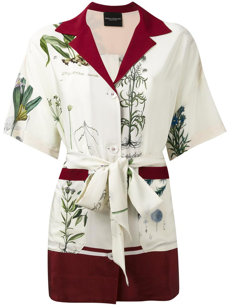 Semicouture belted shirt Free Shipping Inexpensive Outlet Reliable Particular Discount Sale Pay With Visa 5vNB4IwPBR