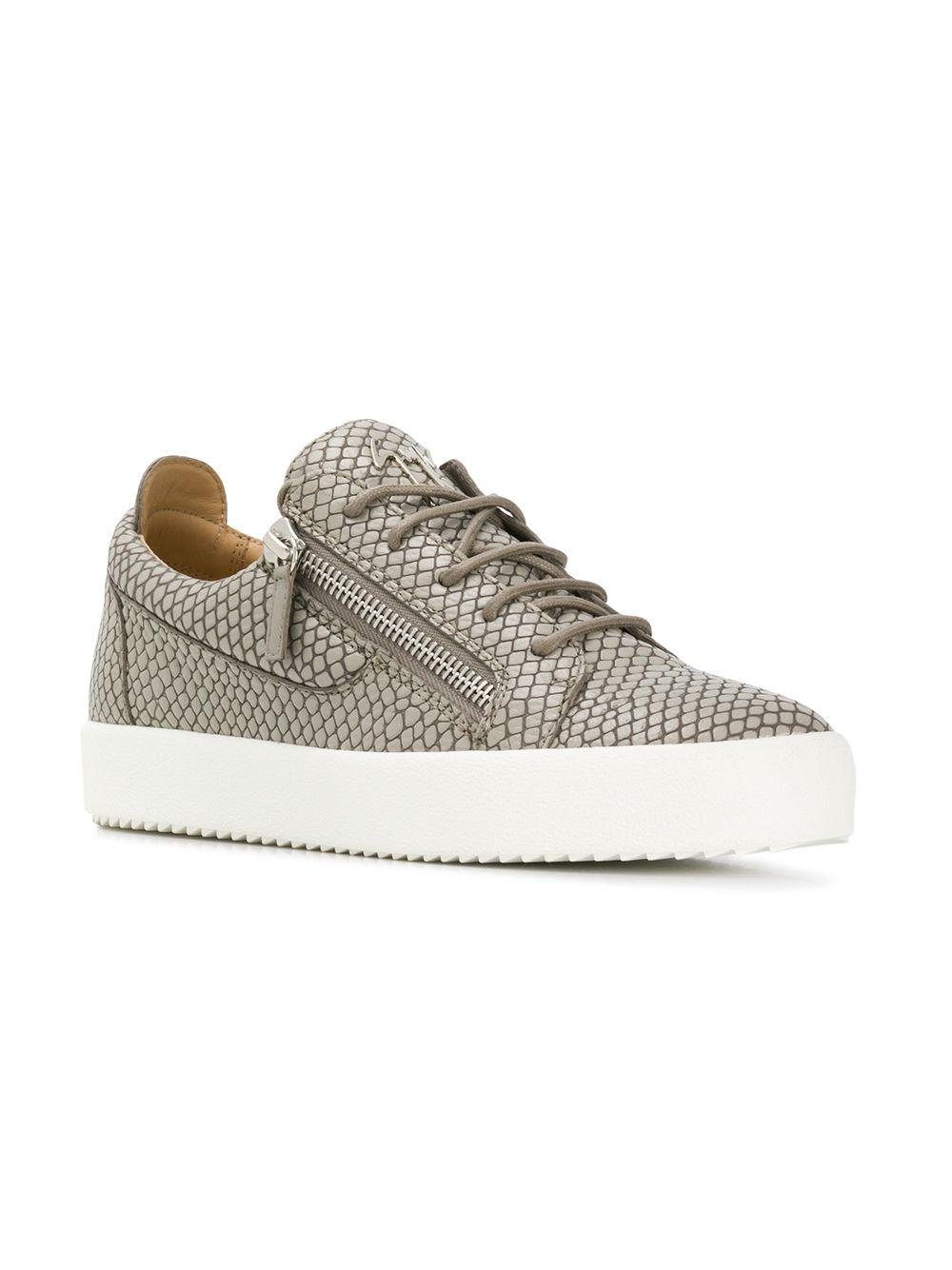137e92afd15a3 Lyst - Giuseppe Zanotti Tejay Sneakers in Gray for Men - Save 15%