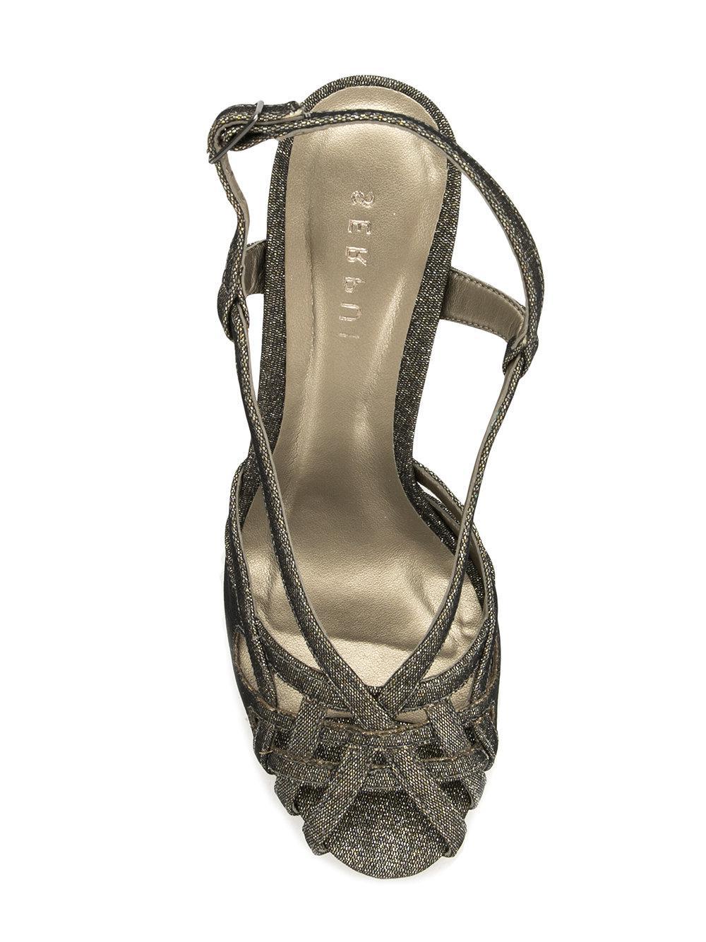 Lyst Metallic In Sandals Serpui Strappy FqwPxrATfF
