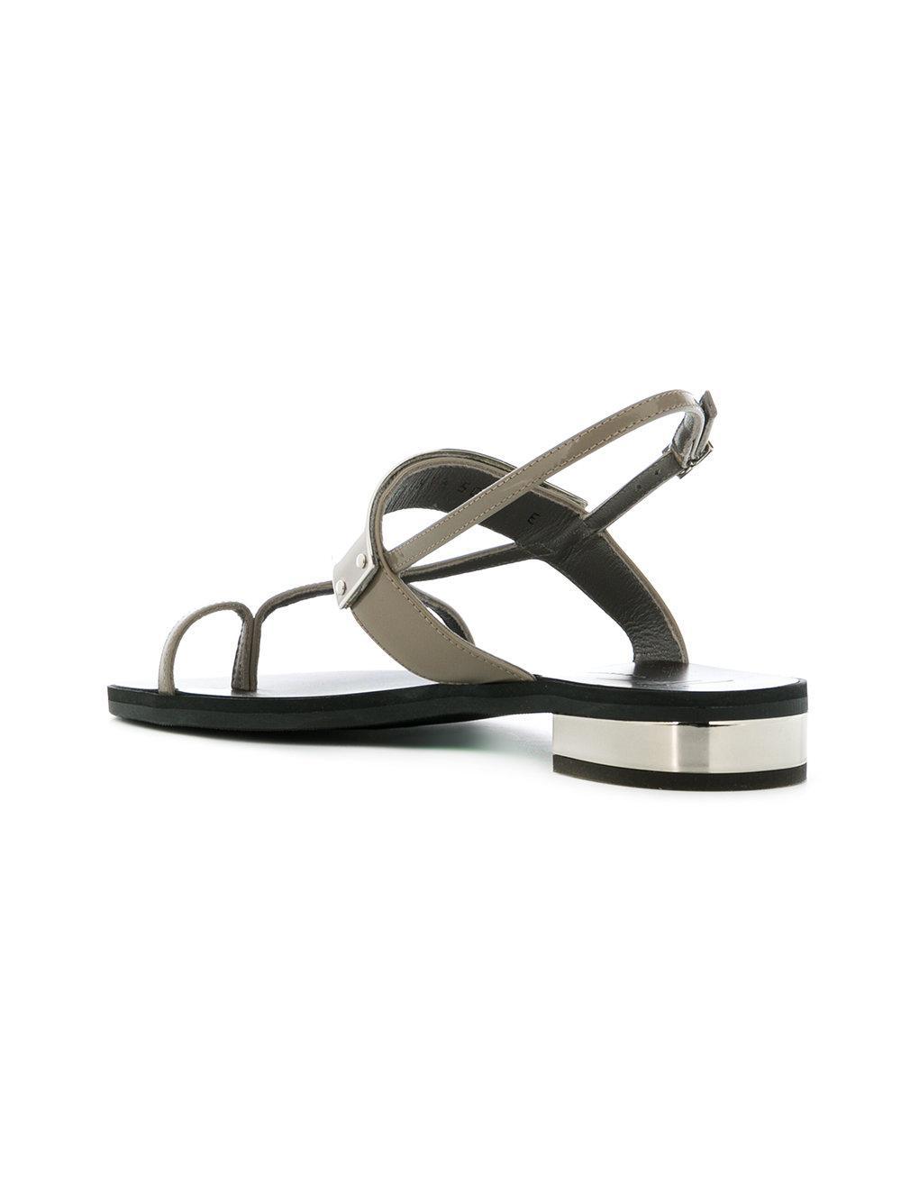 bar strap sandals - Grey Giuseppe Zanotti v4hwV