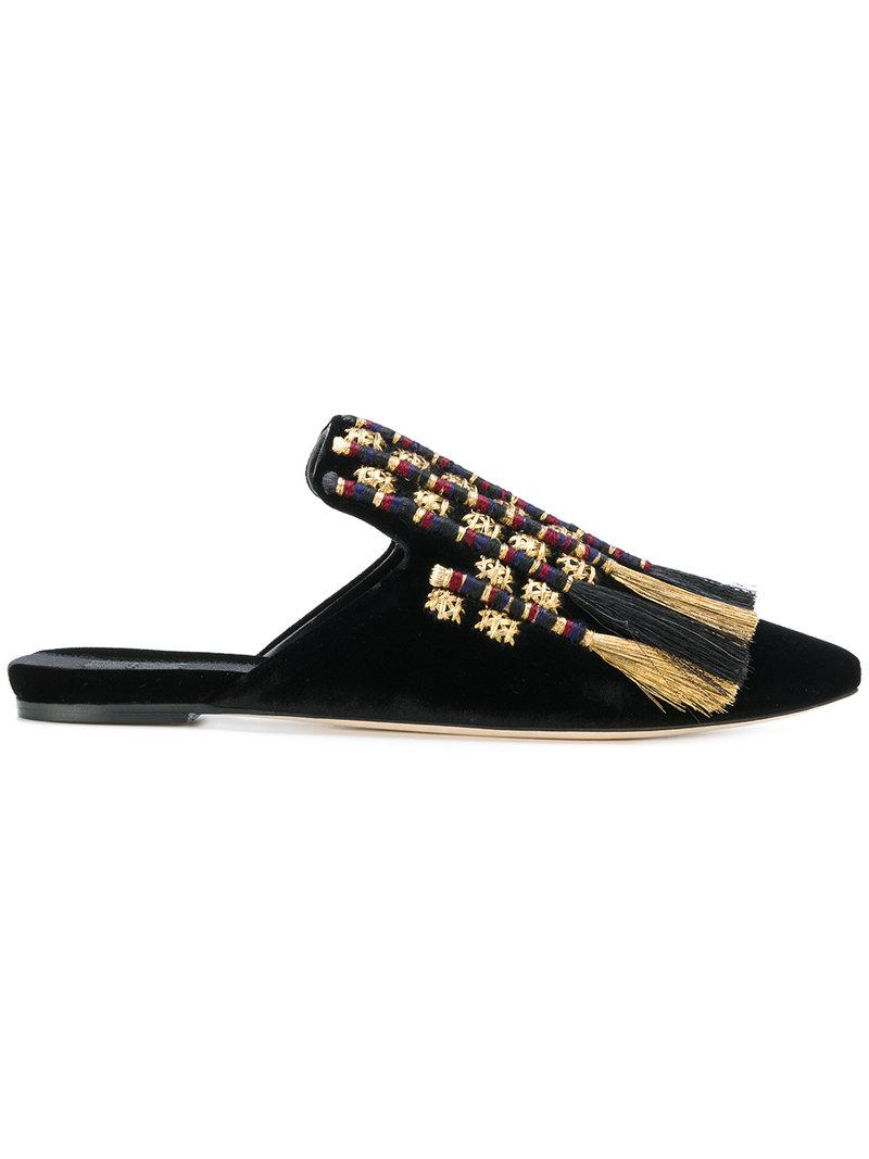 Carducci tasselled satin slipper shoes Sanayi 313 uhBElA