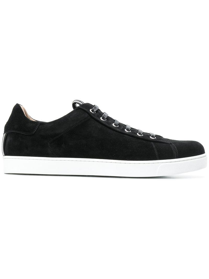 suede low top sneakers - Black Gianvito Rossi uxxV8
