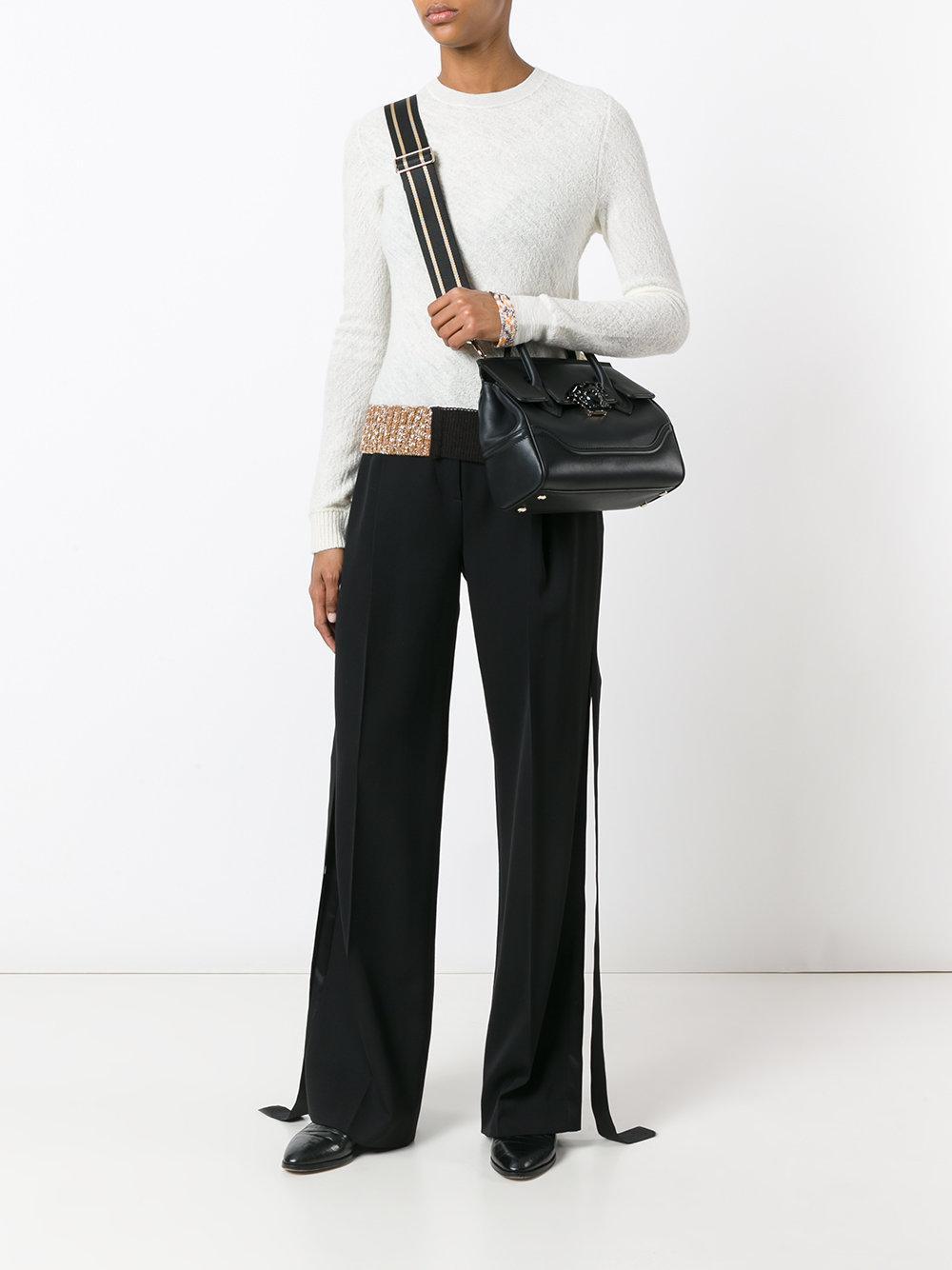 398db936cd Lyst - Versace Palazzo Empire Shoulder Bag in Black - Save 7%