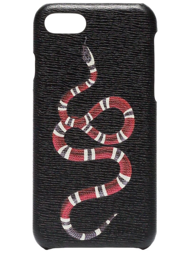 coque effet serpent iphone 8