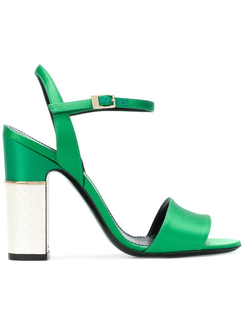 ankle buckled sandals - Green Pollini 37QJR