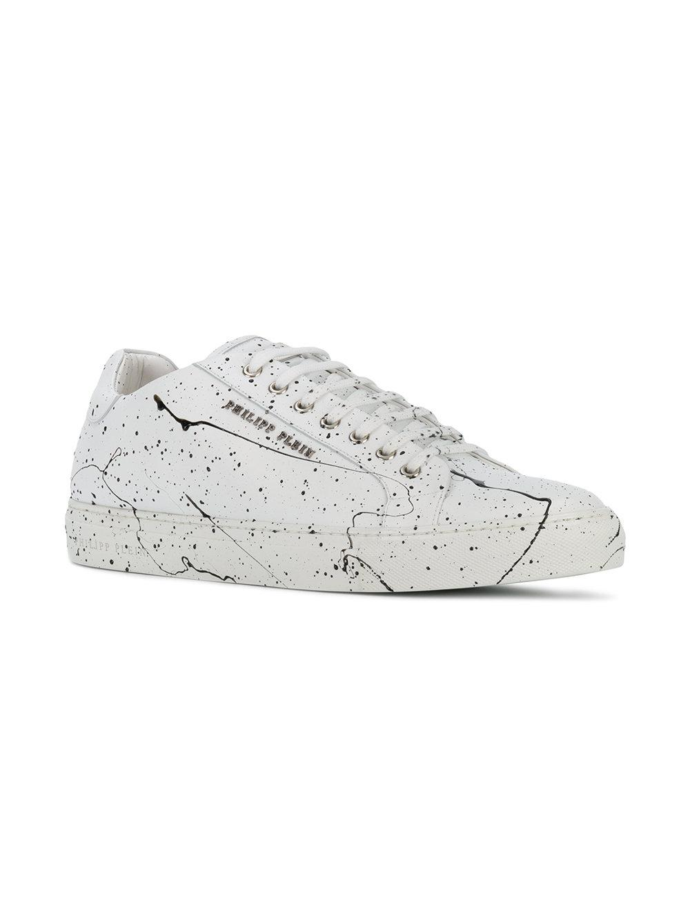 Philipp Plein paint splatter-effect sneakers for sale wholesale price UVpdO9vV