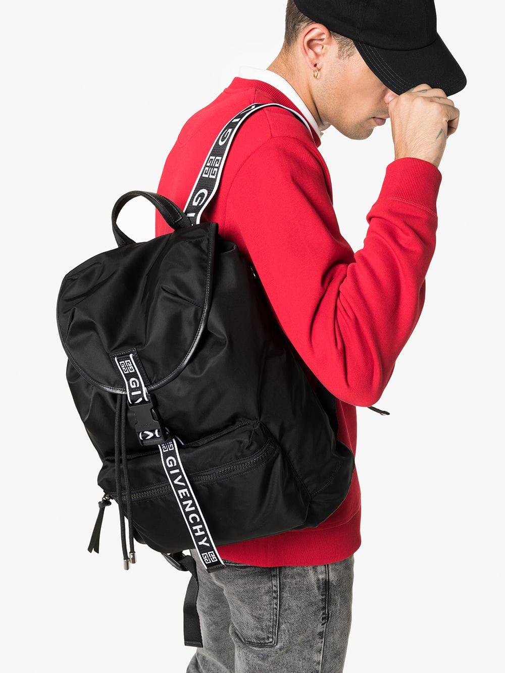 084bc2a57e Lyst - Givenchy Black Light 3 Ticker Backpack in Black for Men - Save 30%