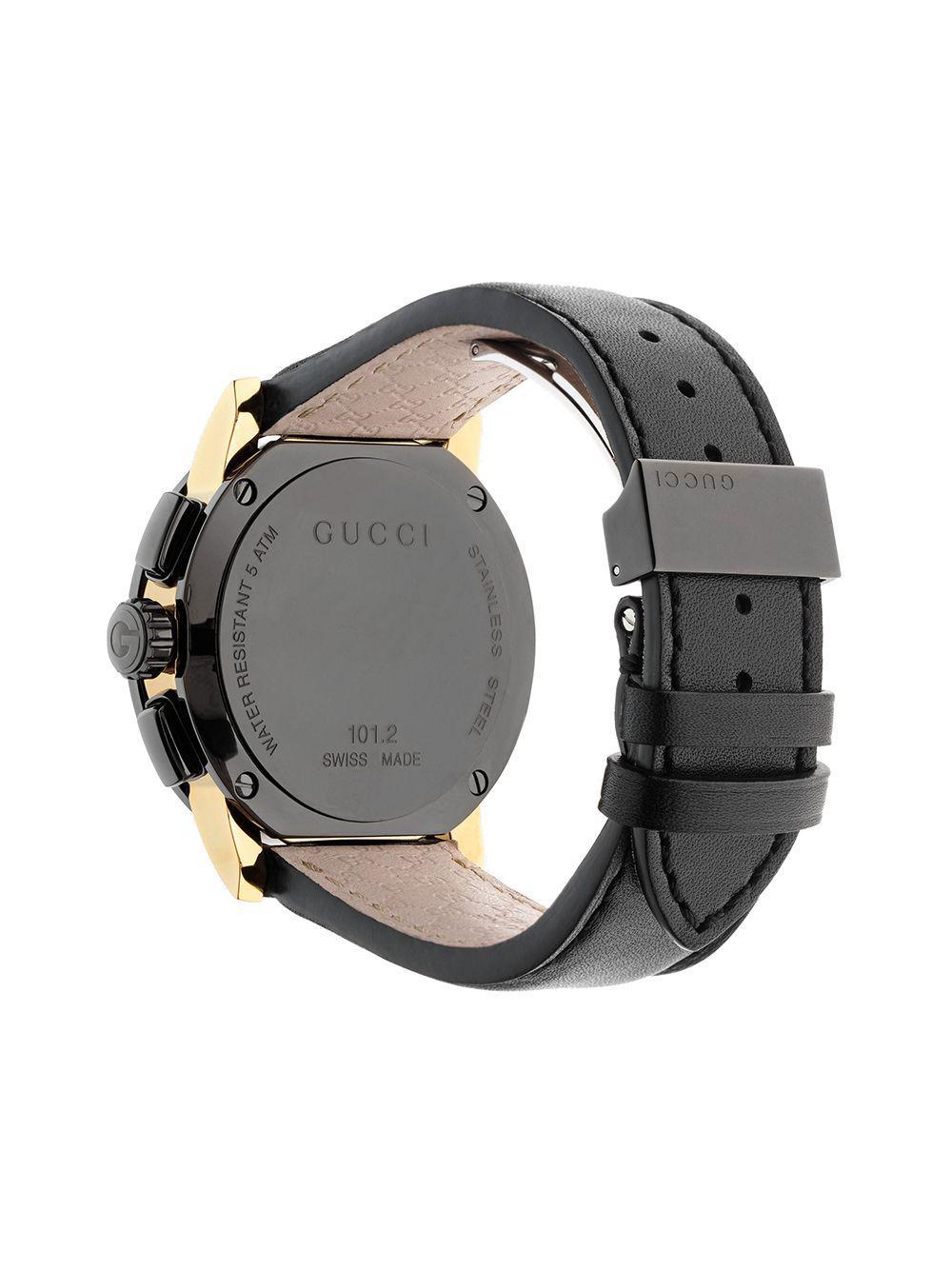 9dbf12d5b Lyst - Gucci G-chrono, 44mm in Black for Men