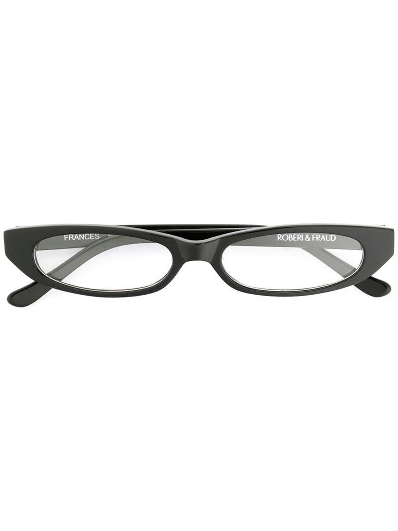 a202c7163 Roberi And Fraud Frances Frames in Black - Lyst