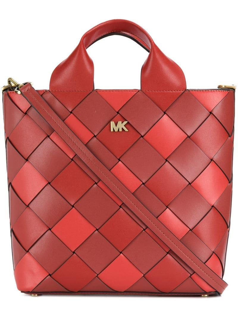 375caaeeb5ea Lyst - Michael Kors Torebka Bag in Red