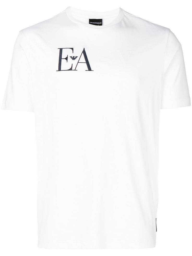 0186fee9 Gallery. Previously sold at: Farfetch · Men's Logo T Shirts ...