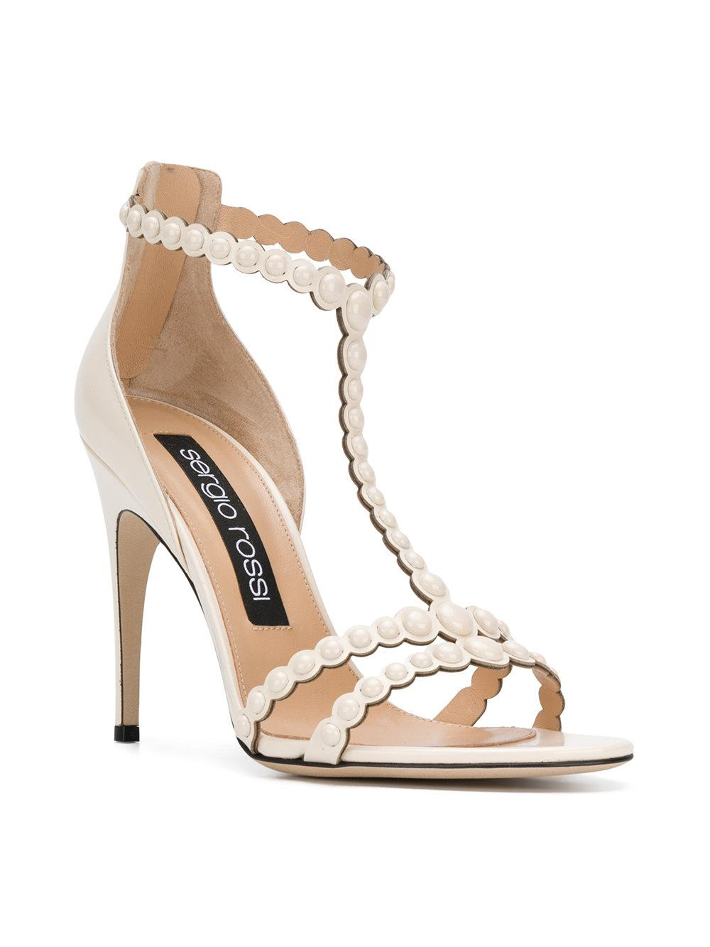 Sergio Rossi Pear embellished heels l4ReB