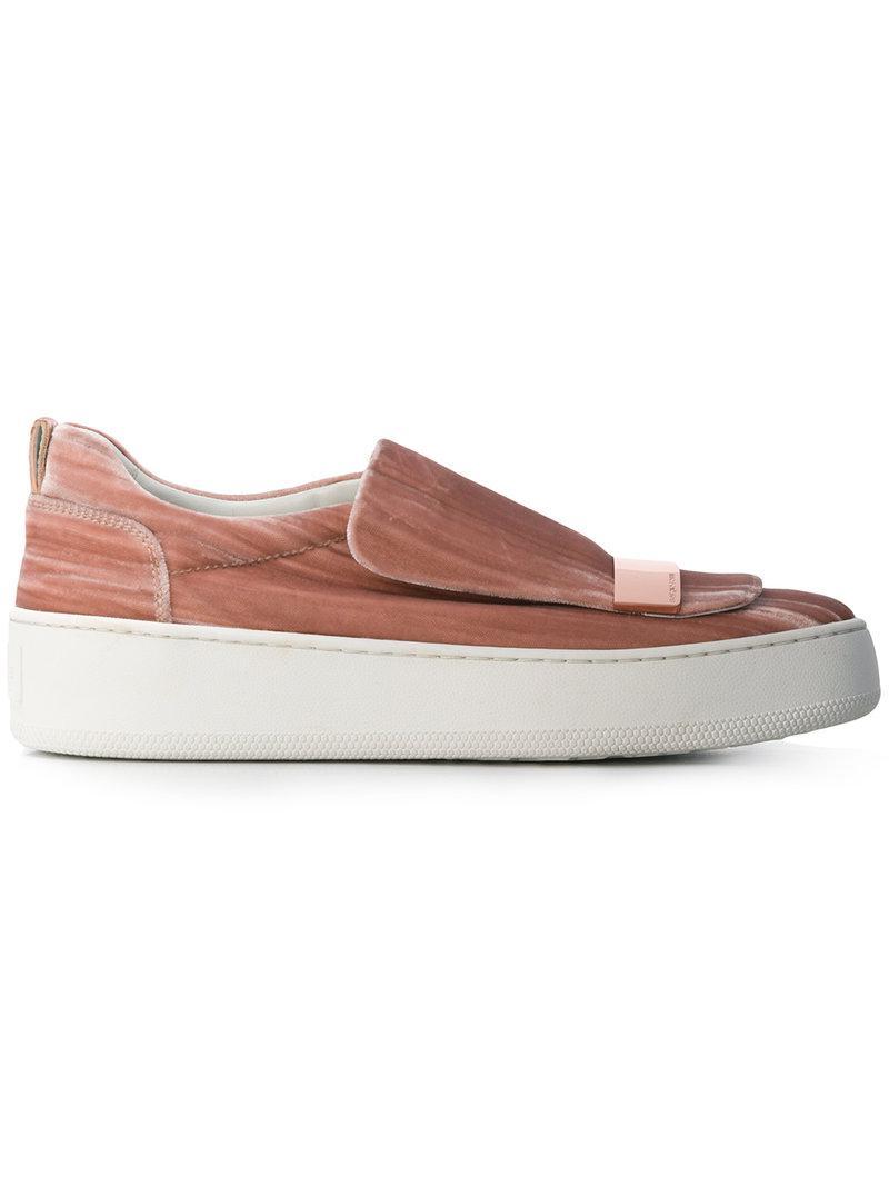 Sergio Rossi loafer skate shoes cheap great deals BjVJsI