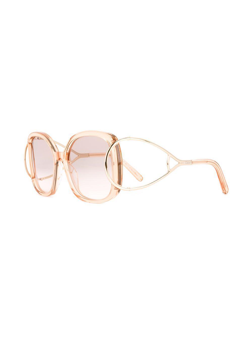 191273055bd Chloé - Multicolor  jackson  Sunglasses - Lyst. View fullscreen