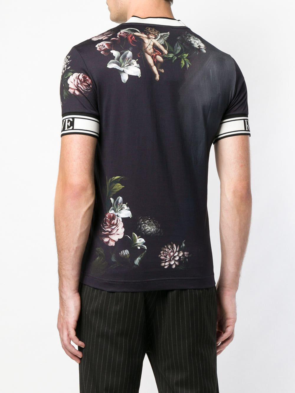 9d0d6d12a473 Lyst - T-shirt King of My Life Cherub Dolce   Gabbana pour homme en ...