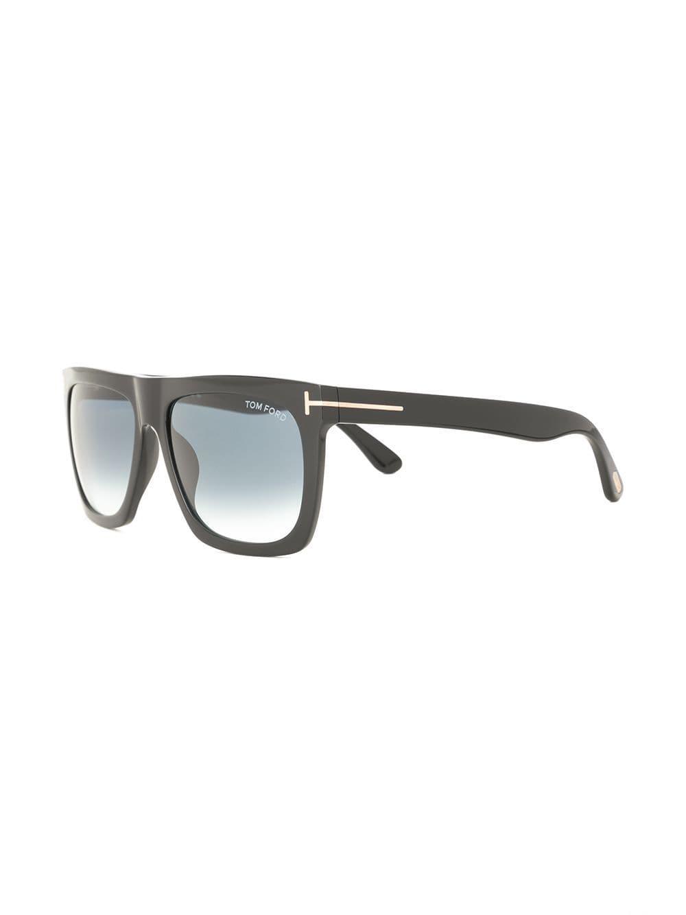 ca0aae2b00a Tom Ford - Black Square Frame Sunglasses - Lyst. View fullscreen
