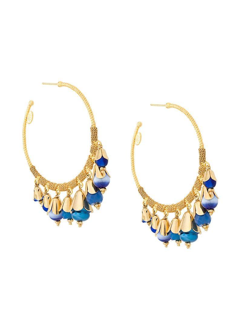 Tulipe hoop earrings - Metallic Gas Bijoux qxhZF