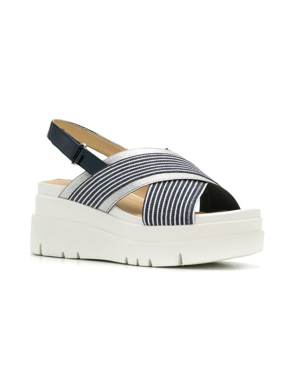 e145e6346f2 Lyst - Geox Marykarmen Plus Sandals in Blue