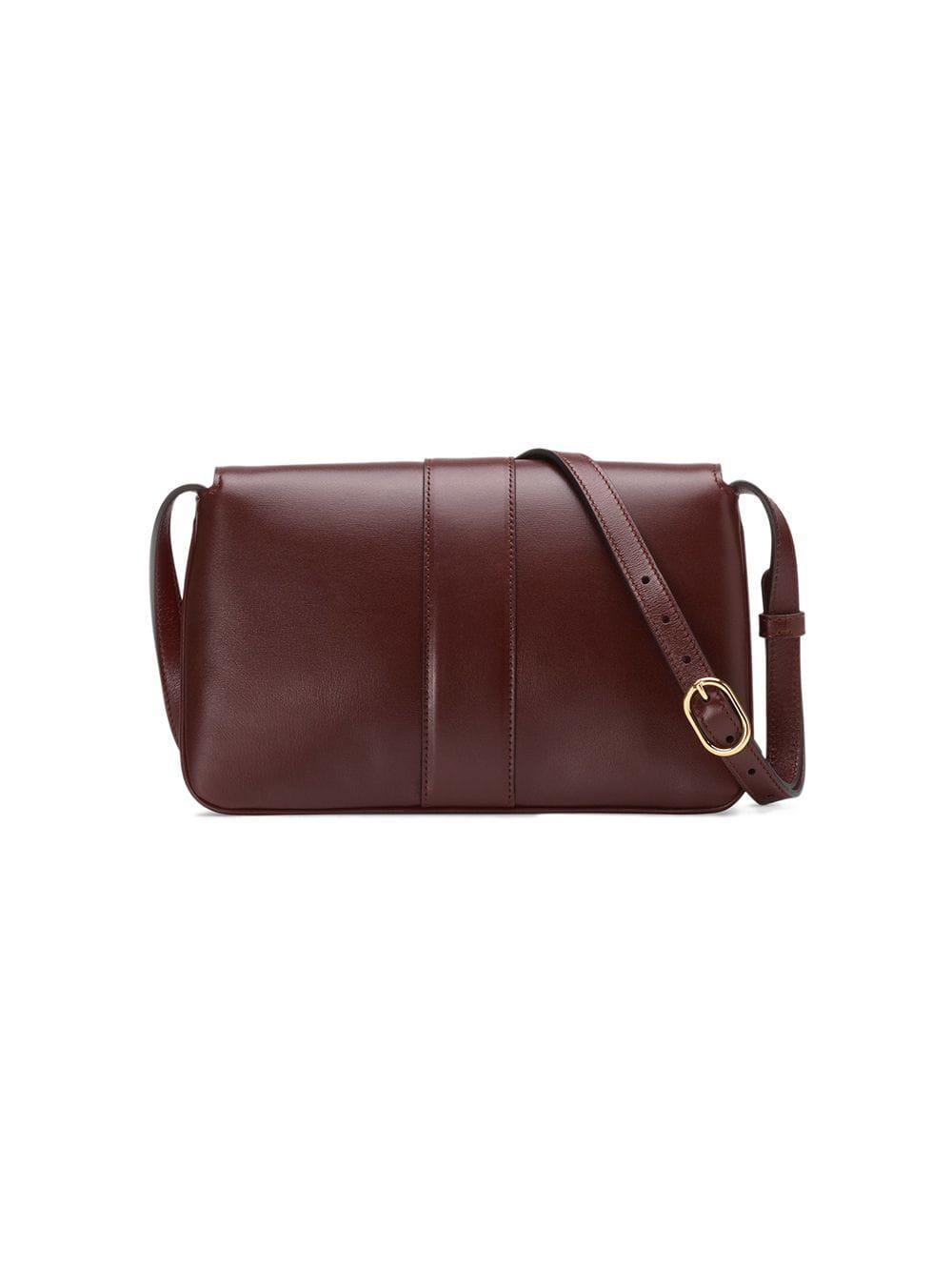 4056b85c7650 Gucci Arli Small Shoulder Bag in Red - Lyst