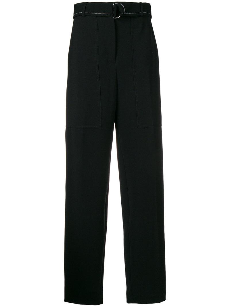 Cheap Sale Pay With Paypal Cheap Price Original Joseph D-ring belted trousers 100% Original K6wKpyFPw