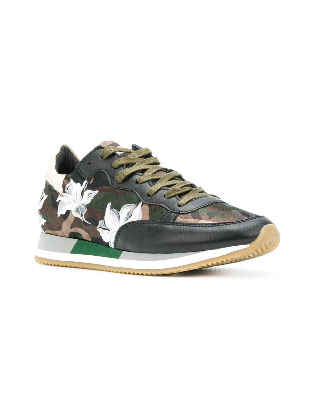 websites for sale Philippe Model floral camouflage sneakers clearance find great cheap nicekicks discount low price q0I7CVRcFj