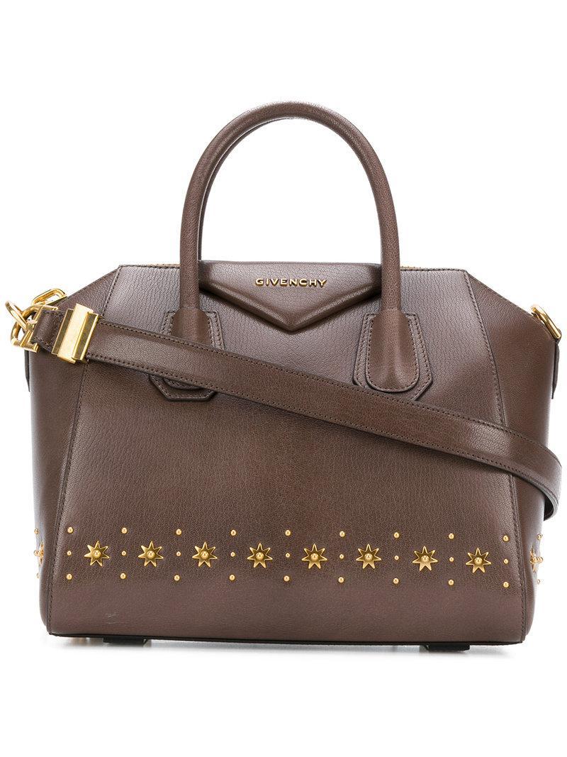 sun studded small Antigona bag - Grey Givenchy 7emGyB