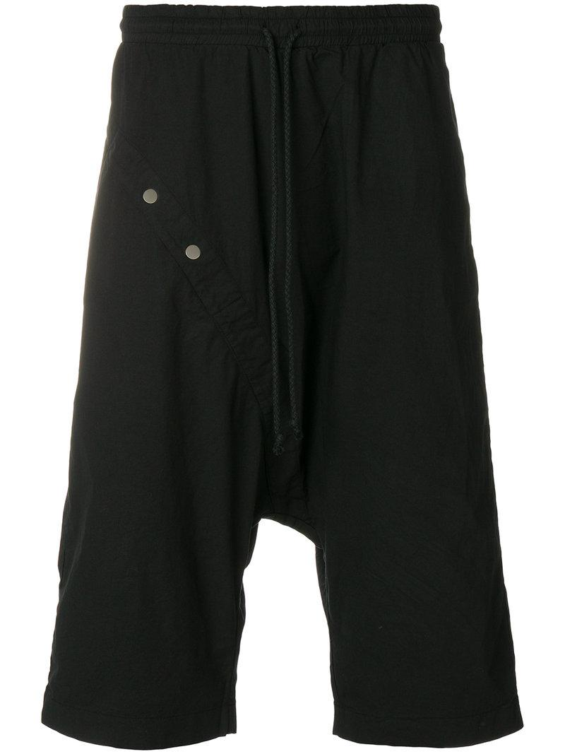 Low Cost Quality Free Shipping For Sale buttoned shorts - Black Lost And Found Rooms Collections Sale Online Discounts sqdsnMOP