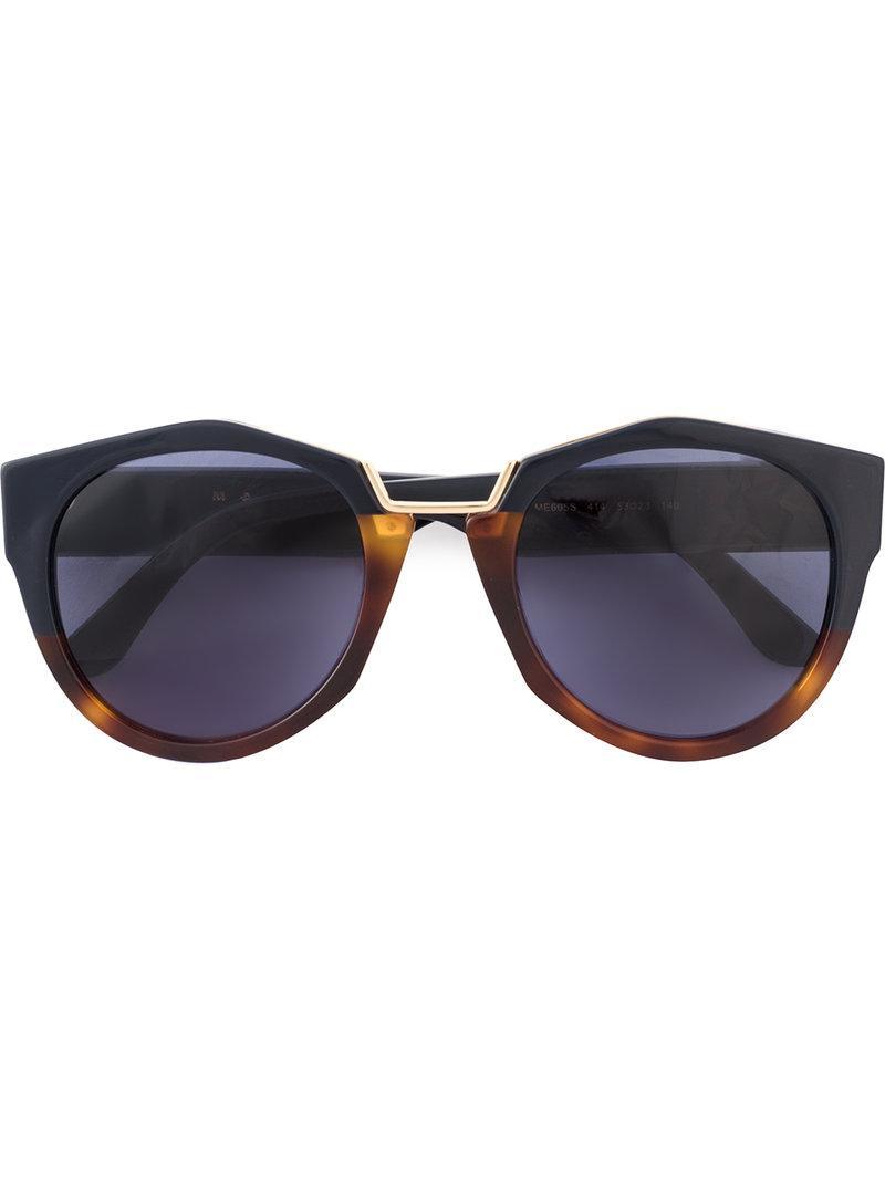 Marni Crop tortoiseshell sunglasses - Brown Marni Eyewear SJPFFDAOM