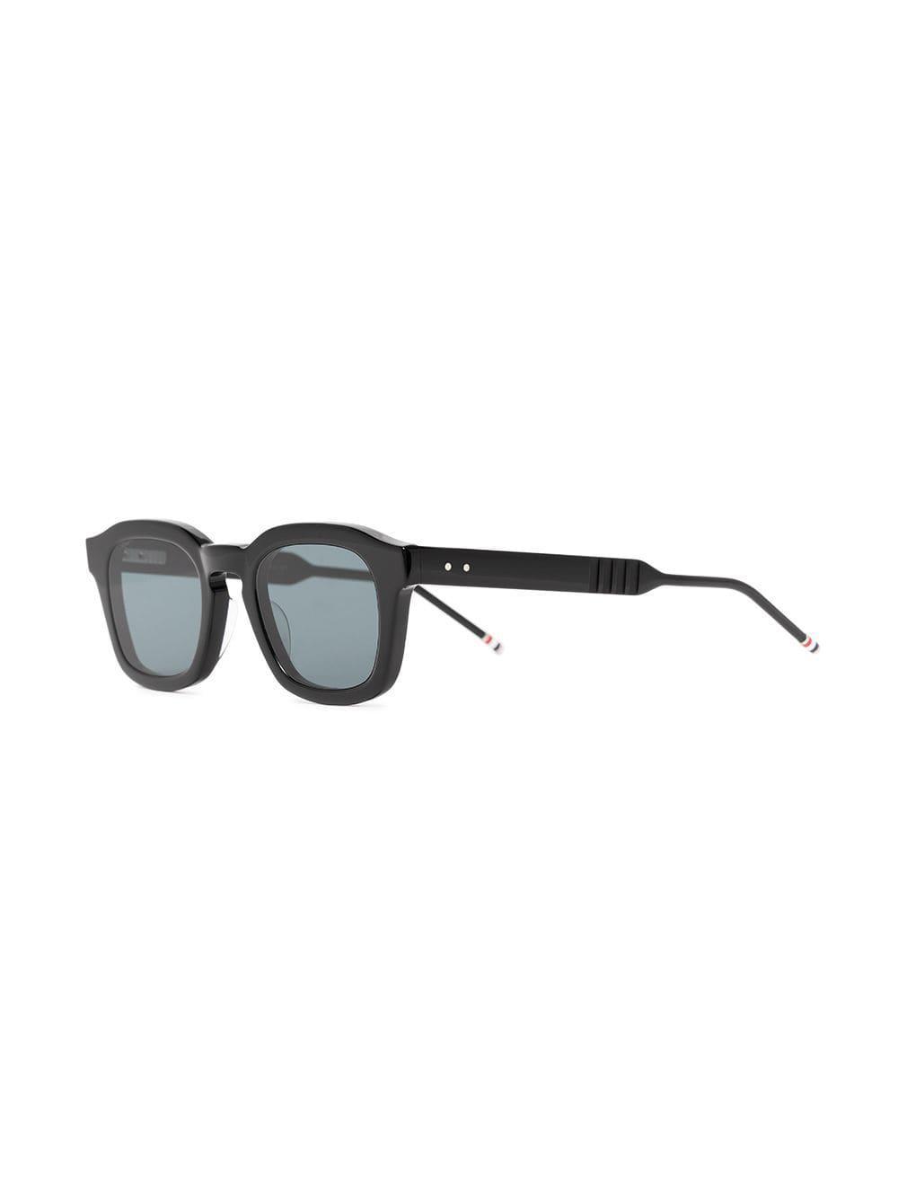 02b2f8643aa5 Thom Browne - Black 412 Sunglasses for Men - Lyst. View fullscreen