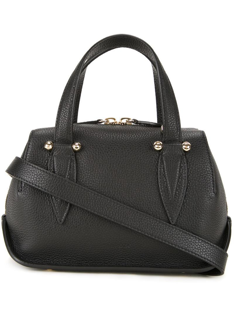 Doctor tote bag - Black Delpozo Buy Cheap Lowest Price Discount Browse Deals Cheap Price Pick A Best For Sale Visit kXBog