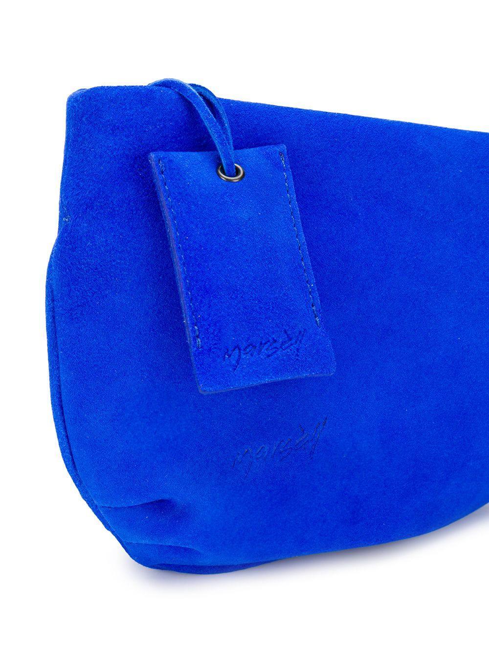 Marsèll Lyst con cremallera Top de azul Bolso cuerpo n0vR0S