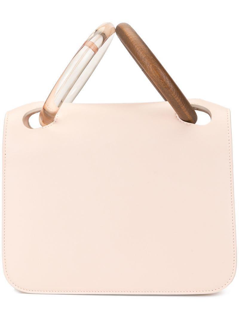 03225f6636f1 Roksanda - Pink Circular Handles Tote Bag - Lyst. View fullscreen