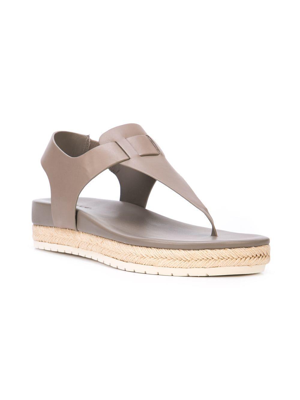 Flint Gray Sandals In Lyst Vince Tga8A