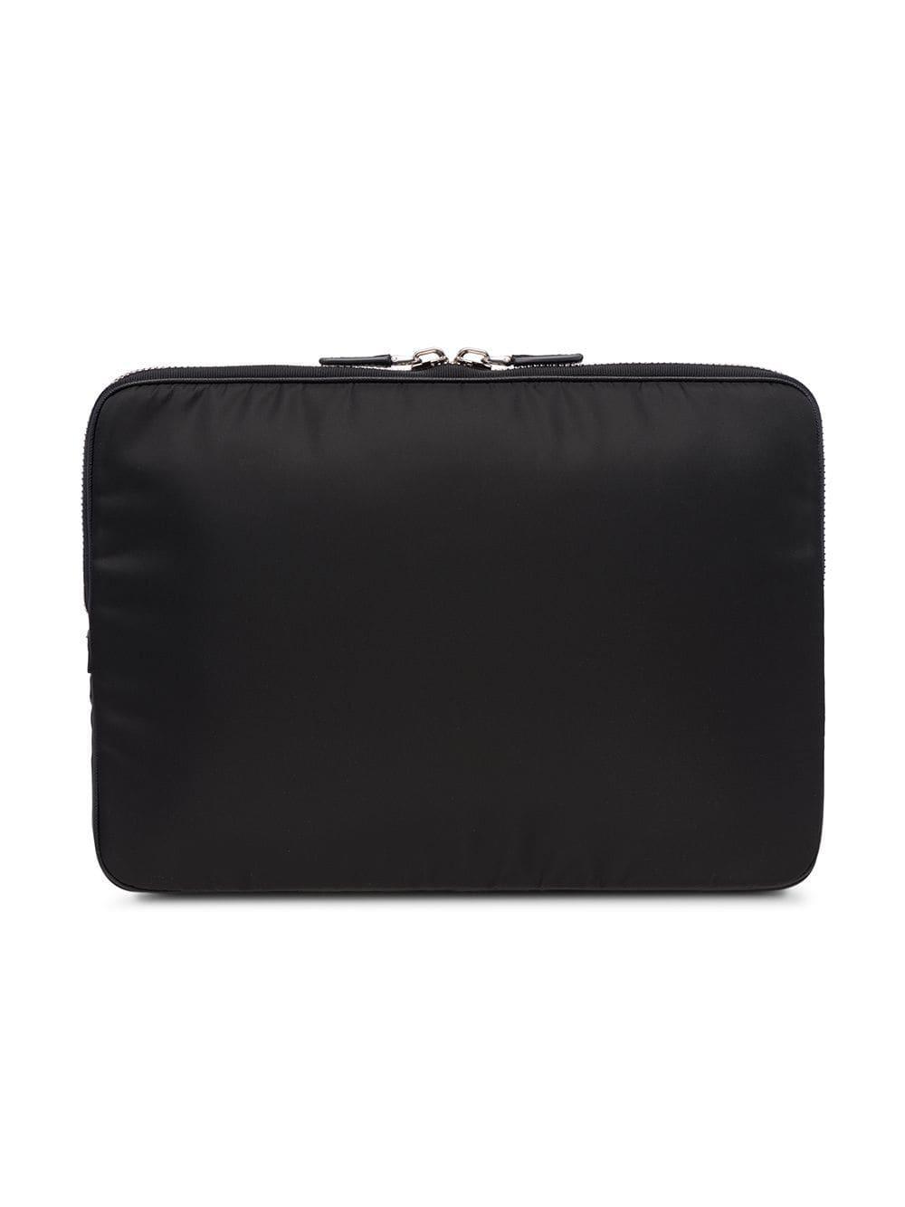 Prada - Black Saffiano Laptop Case for Men - Lyst. View fullscreen dd4400d87c