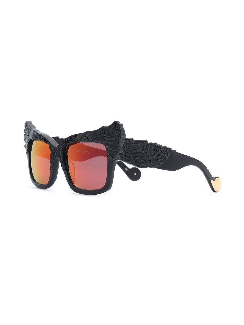 1af61672061 Anna Karin Karlsson - Black The Escapist Sunglasses - Lyst. View fullscreen