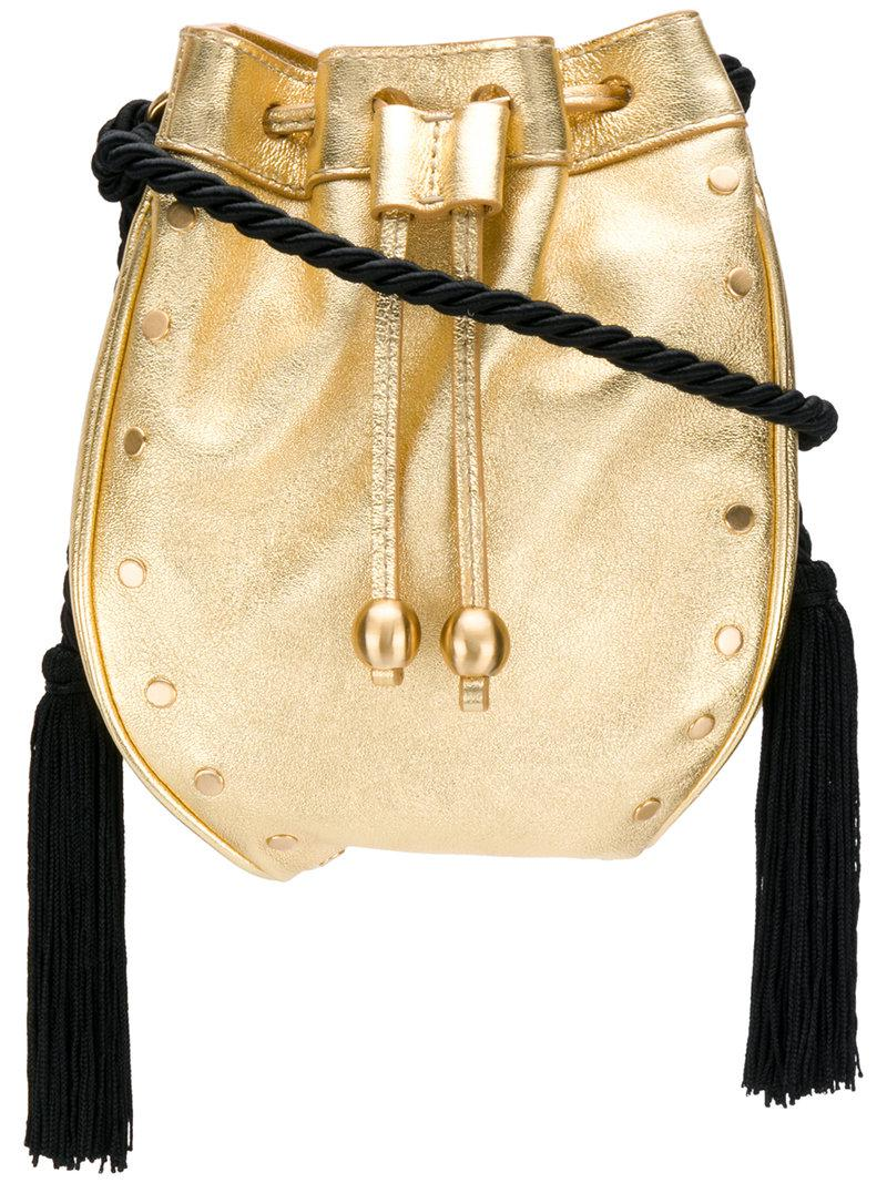 Melody mini bucket bag - Metallic Philosophy di Lorenzo Serafini kngMRloEp