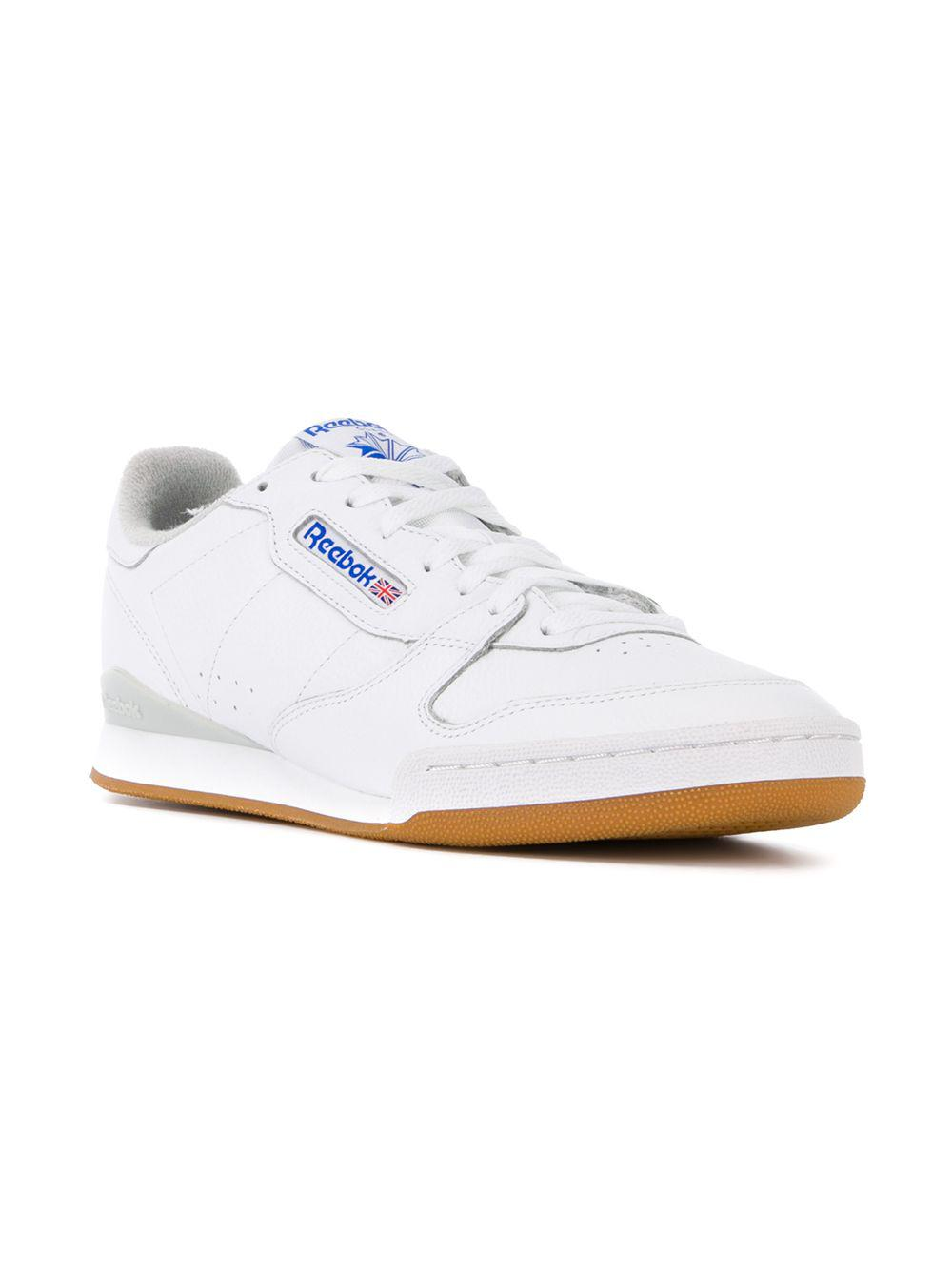 61c0f49b3701b8 Lyst - Reebok Phase 1 Gum in White for Men - Save 47%