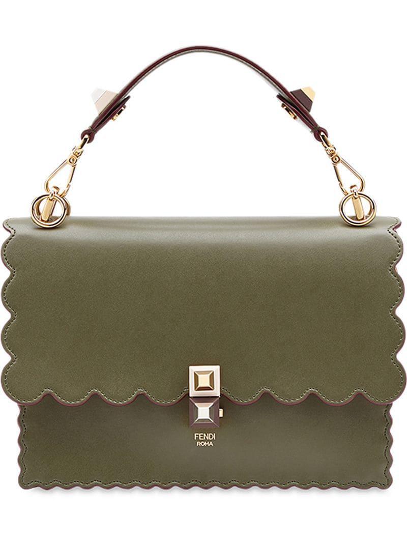 Fendi Kan I Shoulder Bag in Green - Lyst 26136e97a769c