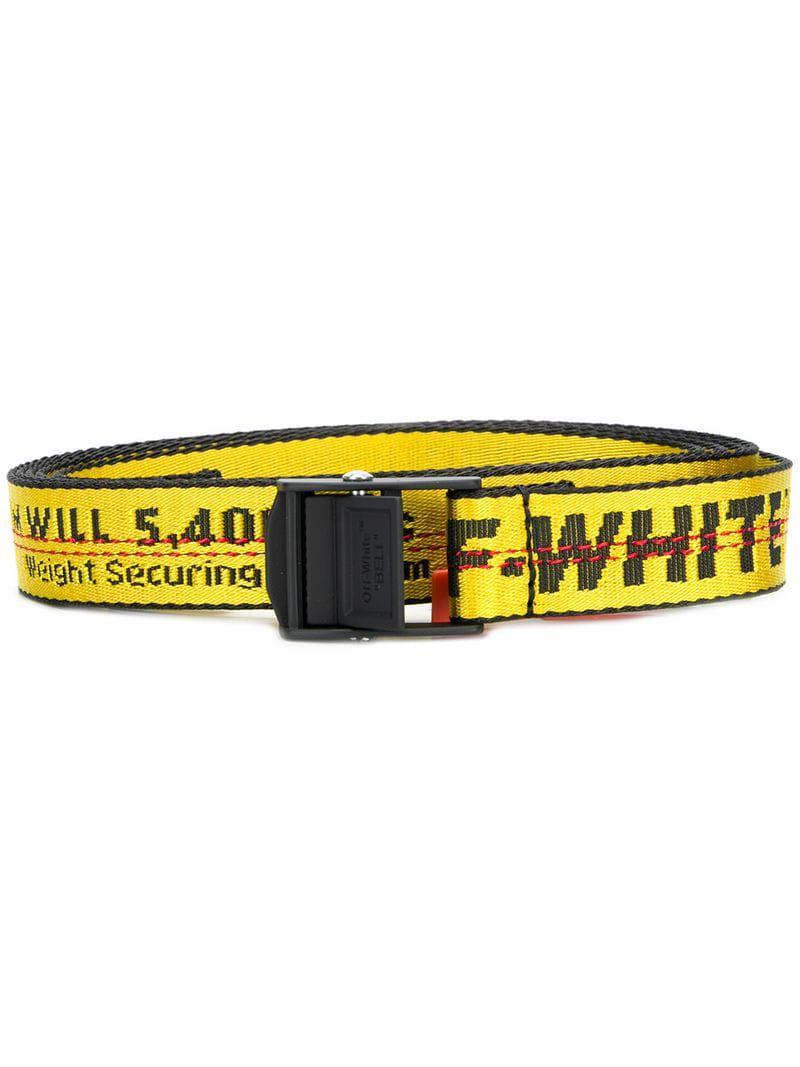 Lyst - Mini ceinture à logo Off-White c o Virgil Abloh pour homme en ... f6d59ccc098