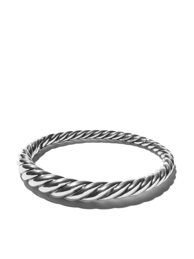 David Yurman Pure Form Cable bangle - Metallic IQw6V9