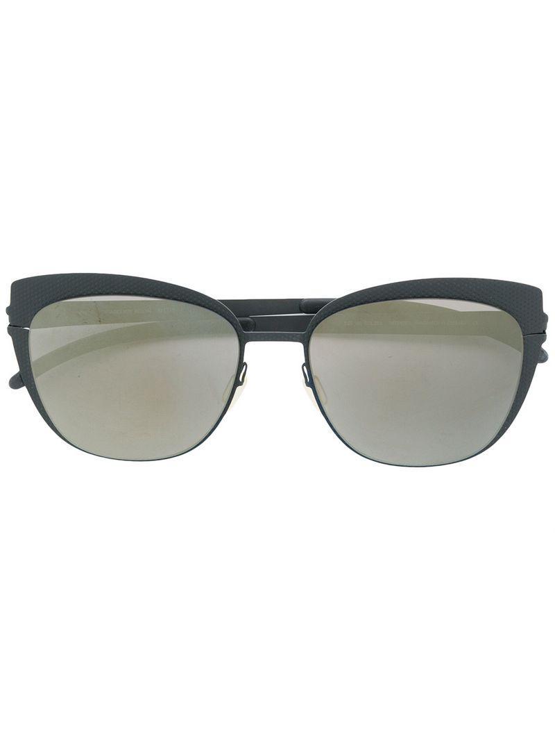 be621cf2b2 Mykita Bellyn Cat-eye Sunglasses in Black - Lyst