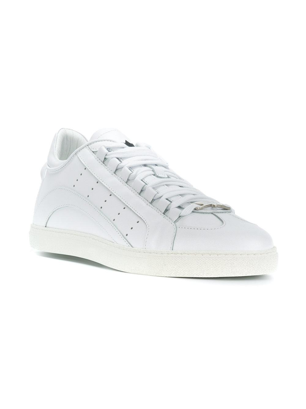 6cade9e2077 DSquared² Low-top Sneakers in White for Men - Lyst