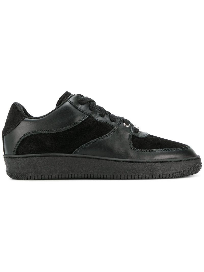 Fiable En Ligne Collections De Vente À Bas Prix Valentinopanelled lace-up sneakers 2018 À Vendre Livraison Rapide Réduction Collections Livraison Gratuite ZLO237