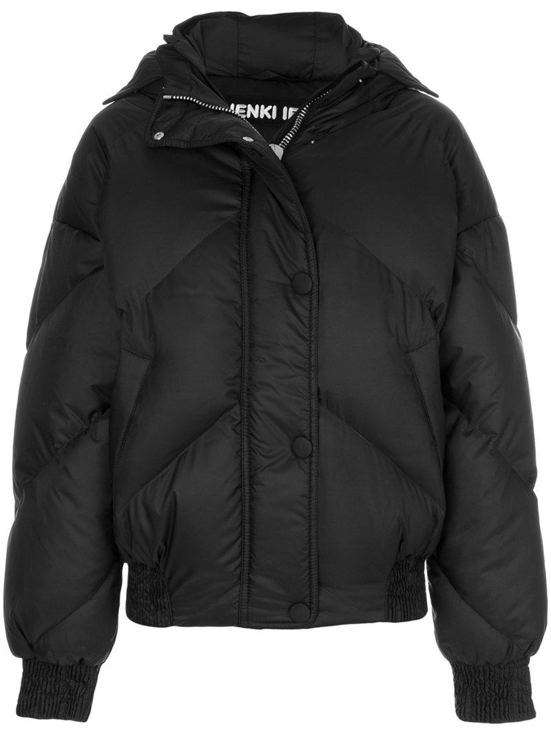 Save in Black Lyst Puffer Jacket Ienki Quilted Rounded Ienki q8wYU
